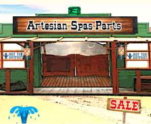 artesian spa parts listings