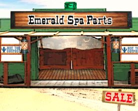 emerald spa parts and supplies